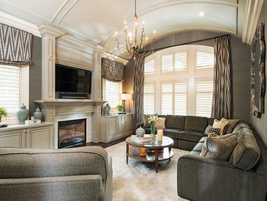 The elegant family room
