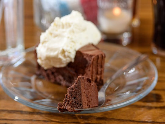 Chocolate Guinness cake at The Irish Rover at 2319 Frankfort Avenue. Feb. 27, 2018