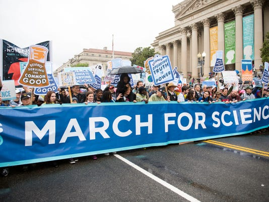 USP NEWS: MARCH FOR SCIENCE A ENL