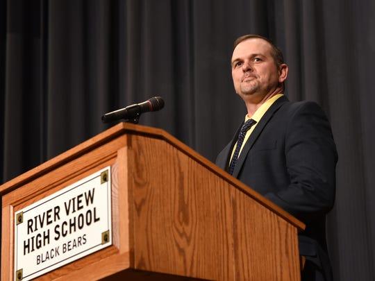 Dalton Summers, Superintendent of River View Local Schools.