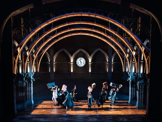 "A scene from the Broadway  production of ""Harry Potter"