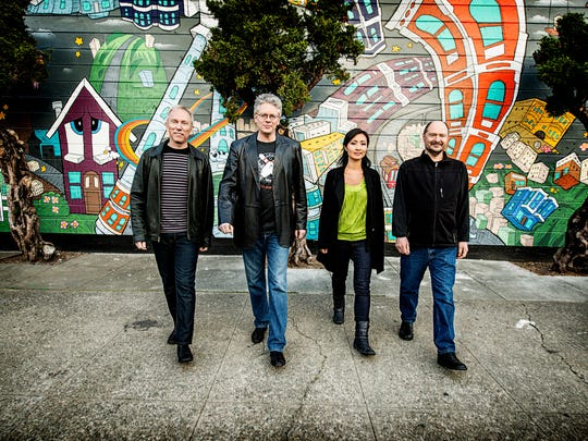 Kronos Quartet photographed in San Francisco, CA March