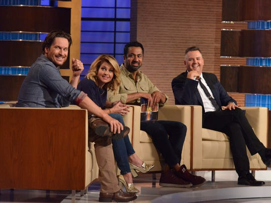 "(L to R) Oliver Hudson, Candace Cameron Bure, Kal Penn and Ross Mathews make up the celebrity panel on ""To Tell the Truth,"" airing Sunday, July 15 on ABC."