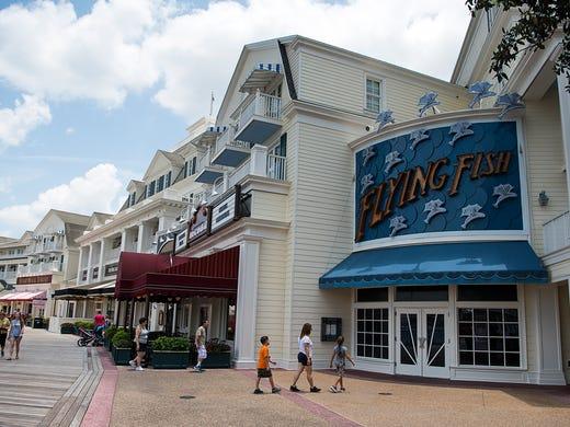 Flying Fish restaurant, on Disney's BoardWalk, features