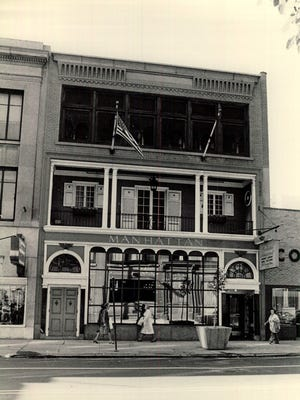 The Manhattan Restaurant on East Avenue once was open around-the-clock and was said to have served 5,000 customers daily.