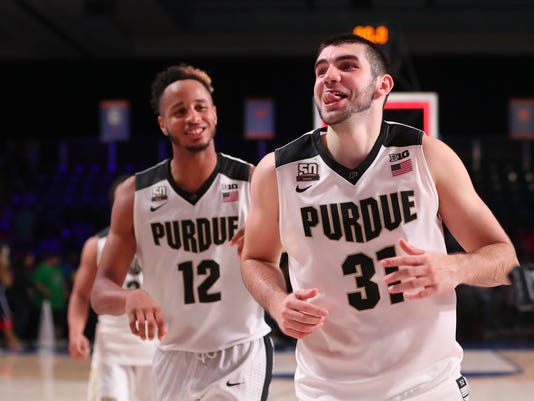 NCAA Basketball: Battle 4 Atlantis-Arizona vs Purdue