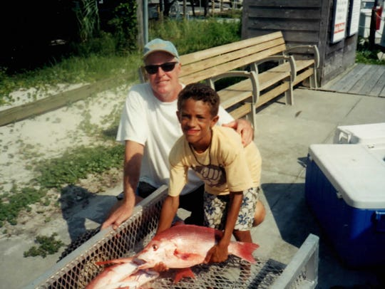 J. Michael Harris of Pensacola and his nephew, Christoper