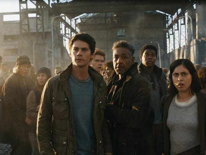 'Maze Runner: The Death Cure,' starring Dylan O'Brien