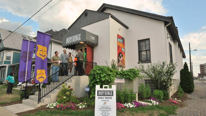 The IndyFringe building — home to the Basile Theatre — is just one of eight venues that will be hosting IndyFringe performances during this year's festival.