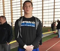 Jalen Mayfield, a four-star offensive tackle from ...
