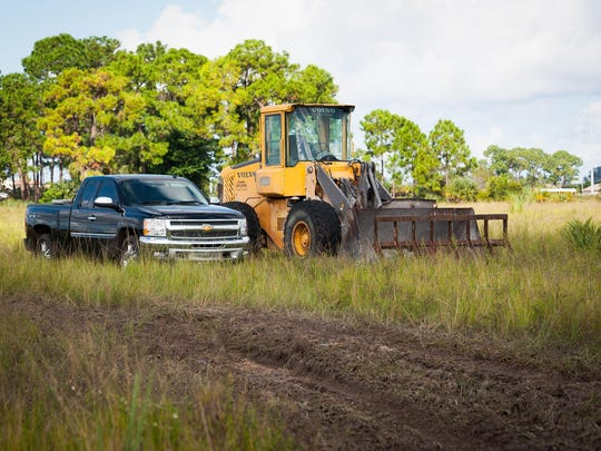 Land that is to be developed soon is seen in Cape Coral, Fla. on Wednesday, September 30, 2015. Across from Pine Island Road, Mariner High and Middle schools there will be a 307-lot property developed, opening around Fall 2016.