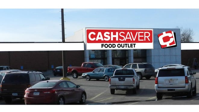 This drawing represented what the Dahl's store on East Euclid Avenue will look like after its transformation into a Cash Saver Food Outlet.