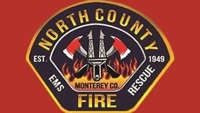 The North County Fire District badge.