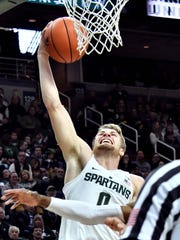 A redshirt season appears likely for Michigan State