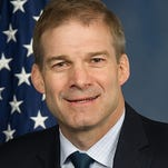 Rep. Jim Jordan, R-Urbana, toured the General Mills plant in Martel on Tuesday. Jordan is making the rounds of the Fourth District this week.