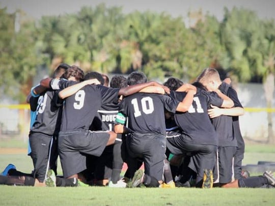 Rodrigo Torres-Giusti, 21, co-owner of Gustitos Peruvian Bakery & Cafe in Naples, was captain of the soccer team at Marjory Stoneman Douglas High School in Parkland.