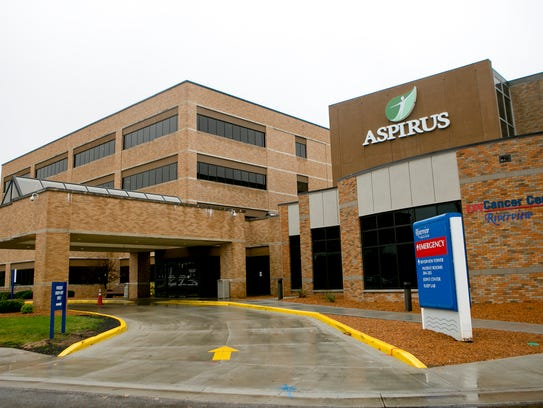 Aspirus Riverview Hospital in Wisconsin Rapids, Wednesday,