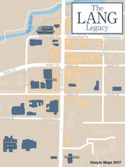 Bob Lang had a big impact on downtown Delafield. The