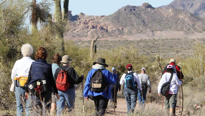 Lost Dutchman State Park in Apache Junction is among 16 Arizona State Parks offering guided hikes as part of the First Day Hikes program.