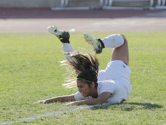 The Coachella Valley varsity soccer team won Thursday's