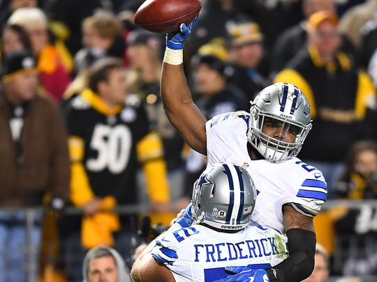 Ezekiel Elliott and Travis Frederick proved to be excellent first-round picks by the Dallas Cowboys in recent years.