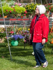 Folks come from near and far for the popular Wilmington Flower Market, on May 8-10 this year.