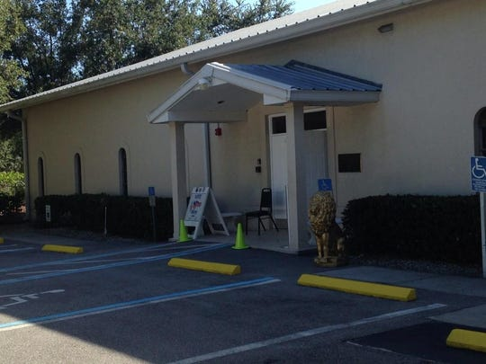 Fewer than 30 people had voted three hours after the polls opened at Precinct 13 at the Bonita Springs Lions Club.