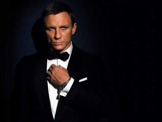 Daniel Craig is the latest actor to potray James Bond on screen.