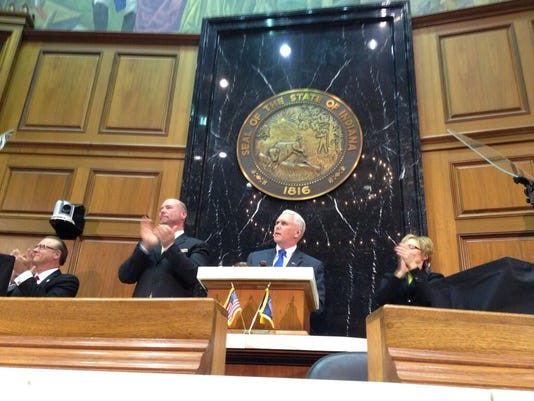 Pence state of the state
