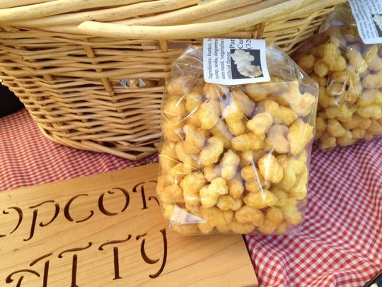 Popcorn Patty at The Middle Town Market at Summertime