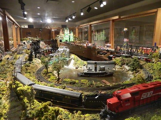 Model trains exhibit