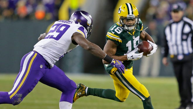 """Packers wide receiver Randall Cobb said Green Bay has """"the pieces to the puzzle.""""  Added Cobb: """"It's just putting the pieces together."""""""