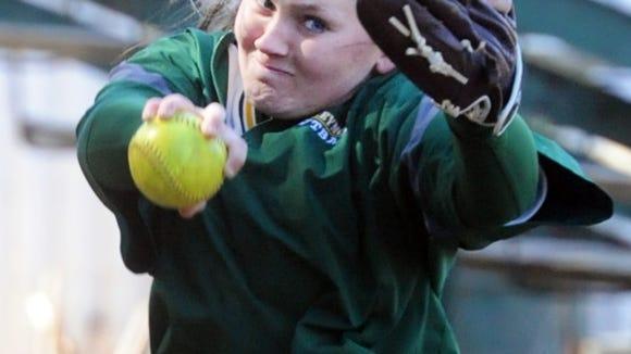 Reynolds softball player Josie Harris