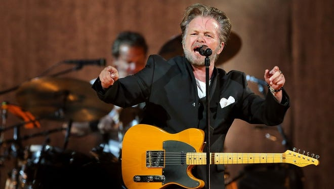 John Mellencamp performs Tuesday at Bankers Life Fieldhouse.