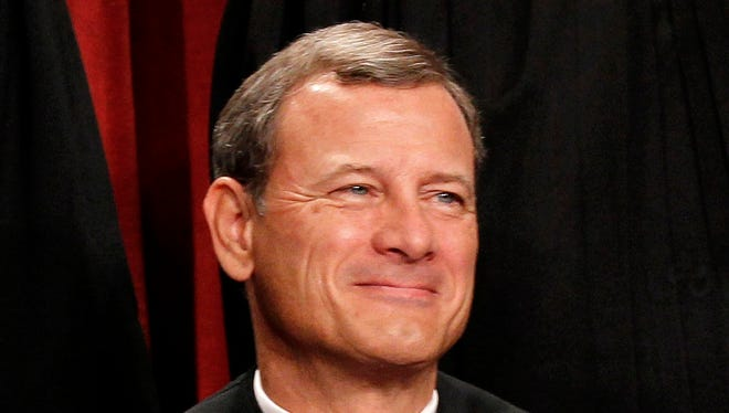 Chief Justice John Roberts wrote the Supreme Court's decision on cellphone privacy.