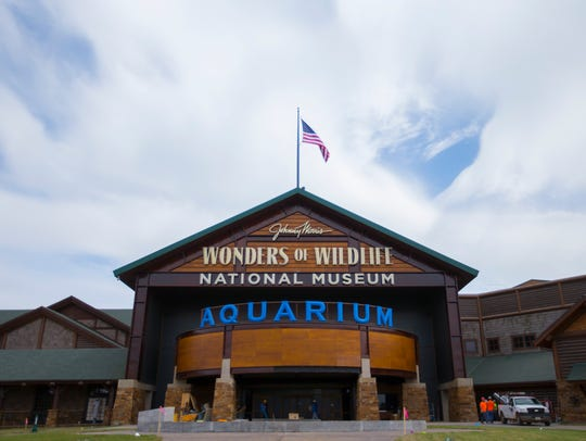 After years of construction, Wonders of Wildlife National