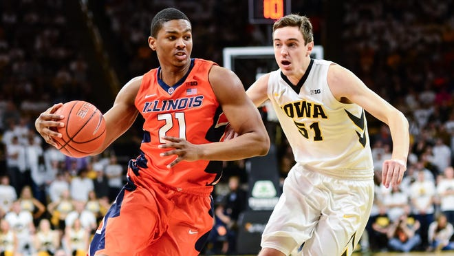 Illinois senior Malcolm Hill is fifth in the Big Ten in scoring at 17 points per game. The Illini have won three games in a row and four of their last five to creep back toward the NCAA tournament conversation.