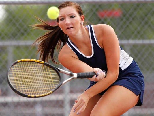 LAF HS tennis Tharp