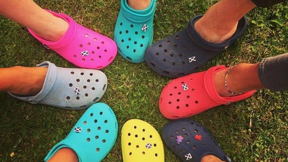 Crocs is known for its signature shoe.