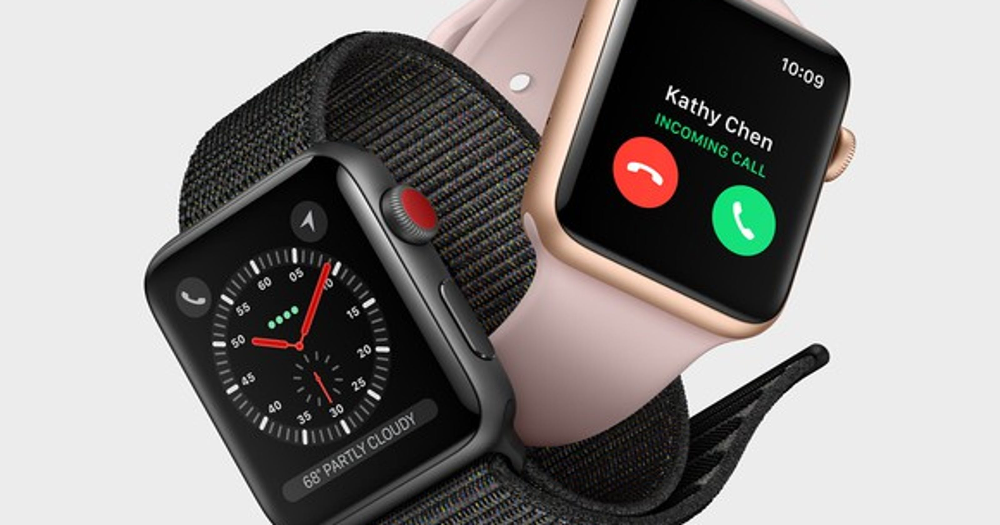 new styles 61e20 d228f Apple Watch Series 3: It will cost you more