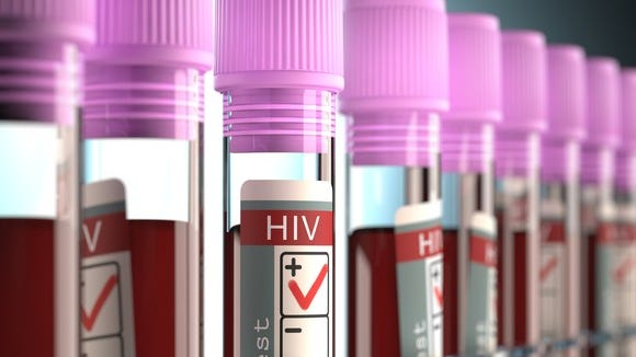 HIV-positive sample vials