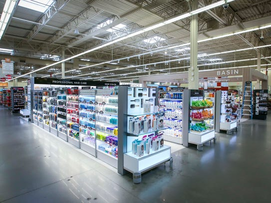 New Beauty and Basin shop inside the Urbandale Hy-Vee