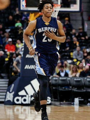 Former Spartan Deyonta Davis had a horrible NBA draft night last June. It turns out, he couldn't have landed in a better place than with the veteran-laden Memphis Grizzlies.