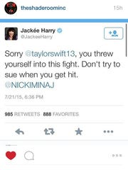 Jackee Harry weighs in on the fued