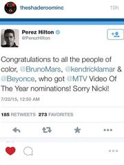Perez weighs in on feud.