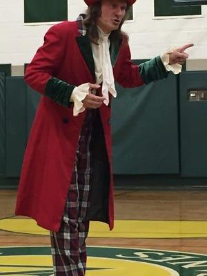 Master storyteller Jonathan Kruk transforms into Ebenezer Scrooge.
