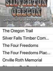 """A new iPhone app --  """"Silverton Mural Society"""" -- designed"""