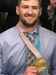 Paralympic gold medalist Travis Dodson.