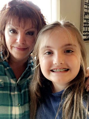Tina Oliver and daughter Livia Joseph.