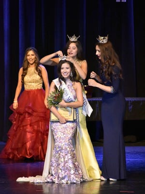 Abrianna Morales, 16, of Las Cruces, was recently  crowned Miss New Mexico's Outstanding Teen.
